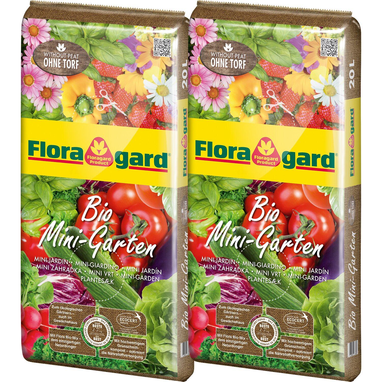Floragard Bio Mini-Garten 2 x 20 l