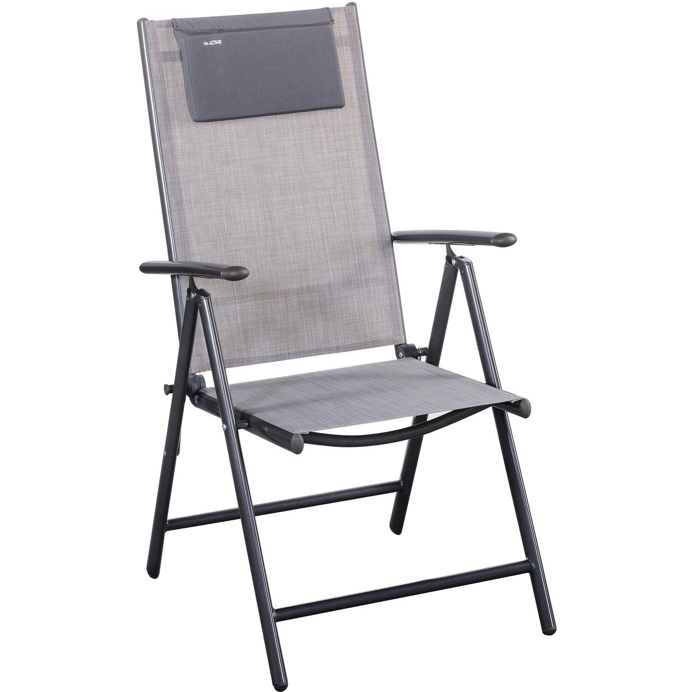 Gartenmöbel-Set Rio 8-teilig Grau kaufen bei OBI