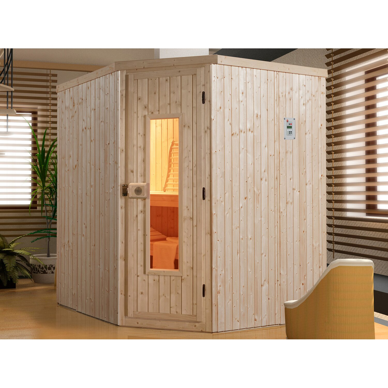 kleine sauna machen sie den preisvergleich bei nextag. Black Bedroom Furniture Sets. Home Design Ideas