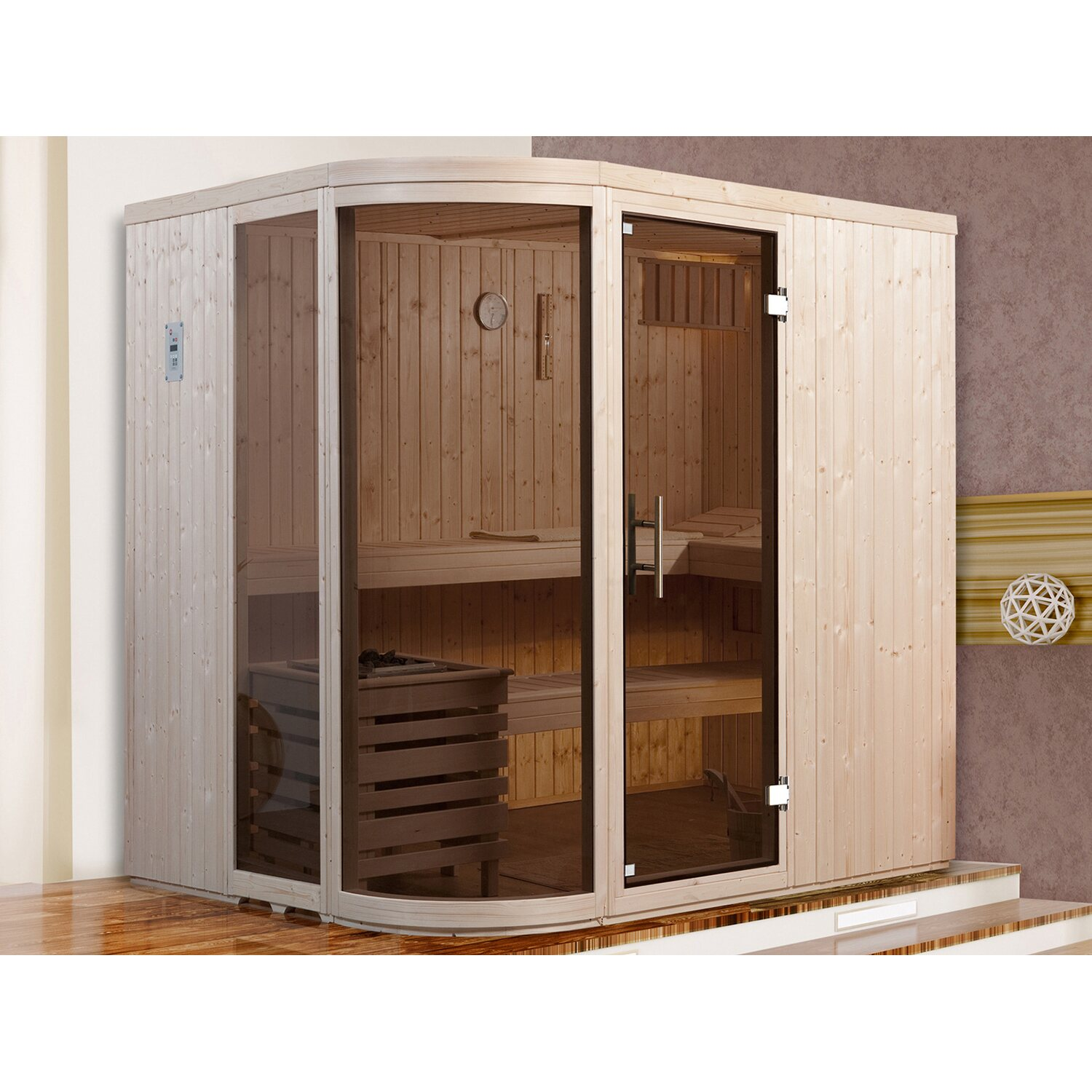 sauna glasfront kaufen simple eago eospa e with sauna glasfront kaufen good glassauna in allen. Black Bedroom Furniture Sets. Home Design Ideas