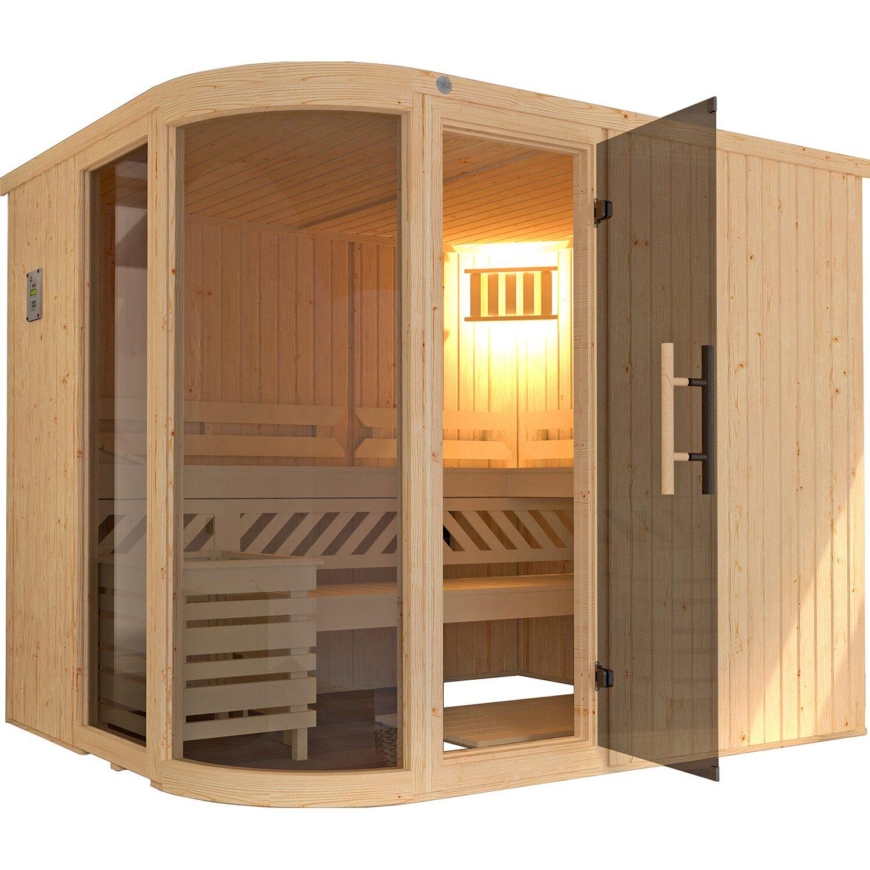 Gut gemocht Weka Design-Sauna Sara Ofen/Steuerung 244x194x199 kaufen bei OBI KK98