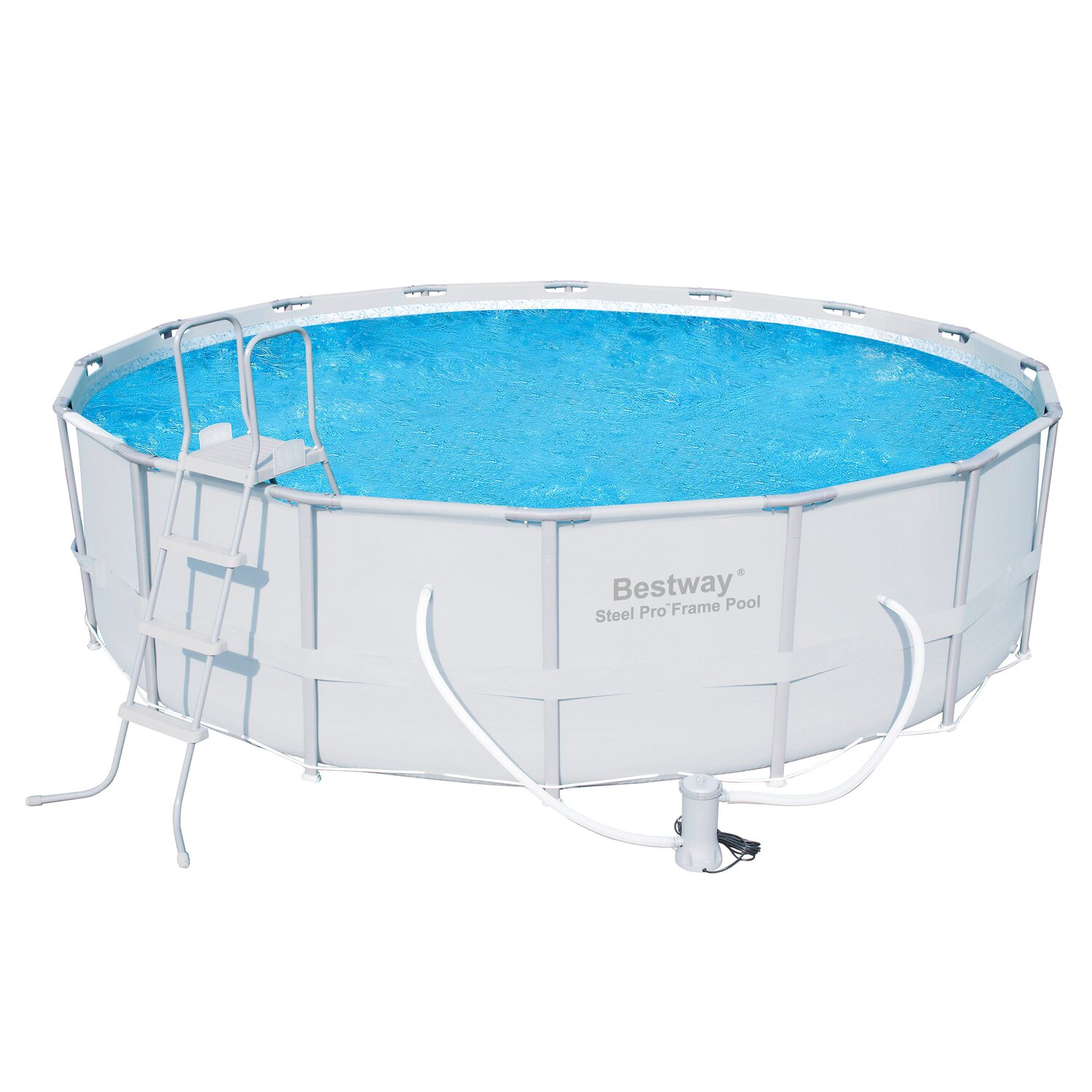 Stahlrahmen pool elegant intex metalframe pool x cm with for Obi filterpumpe
