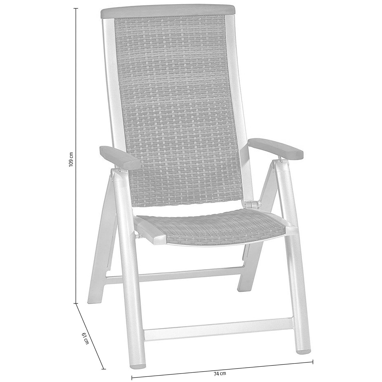 obi klappstuhl barrie geflecht kaufen bei obi. Black Bedroom Furniture Sets. Home Design Ideas