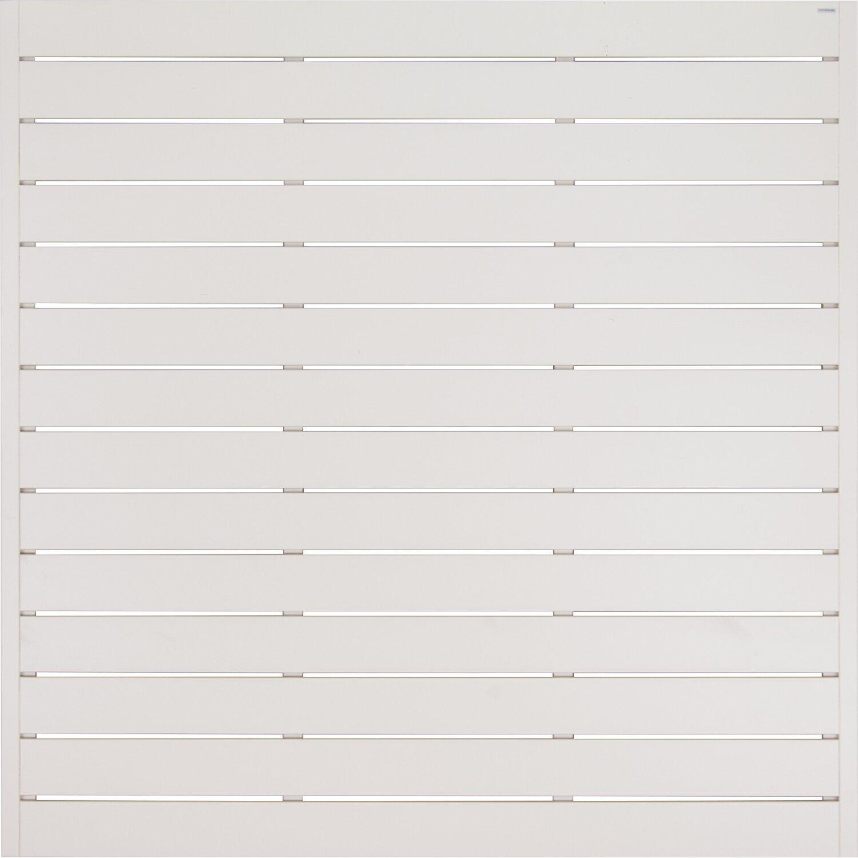 Andrewex Sichtschutzzaunelement Faro Latte Lackiert 180 Cm X 180
