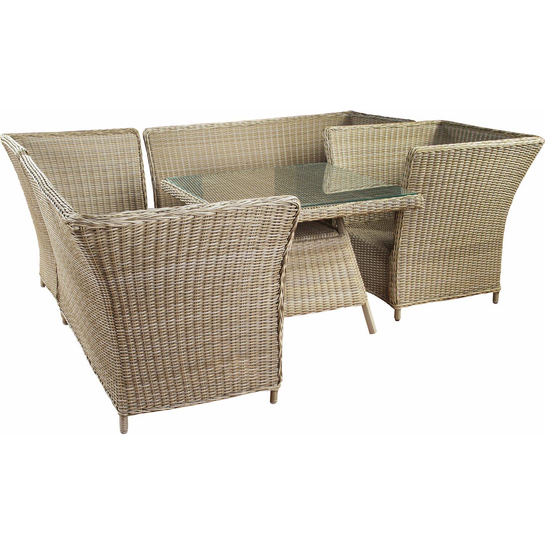 OBI Esstisch-Lounge-Gruppe Madison 4-teilig kaufen bei OBI