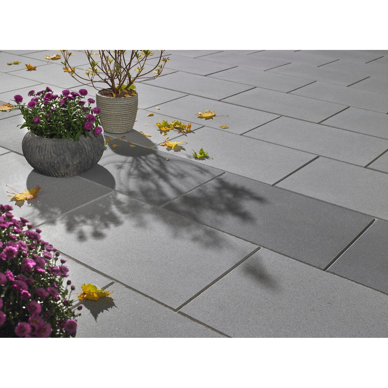 Terrassenplatte Casavera Grau 60 Cm X 40 Cm X 3 8 Cm Geschliffen