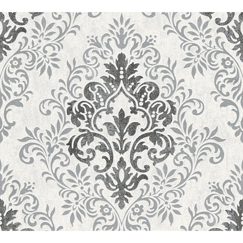 Jette Joop Vliestapete Ornament Schwarz Weiss Kaufen Bei Obi