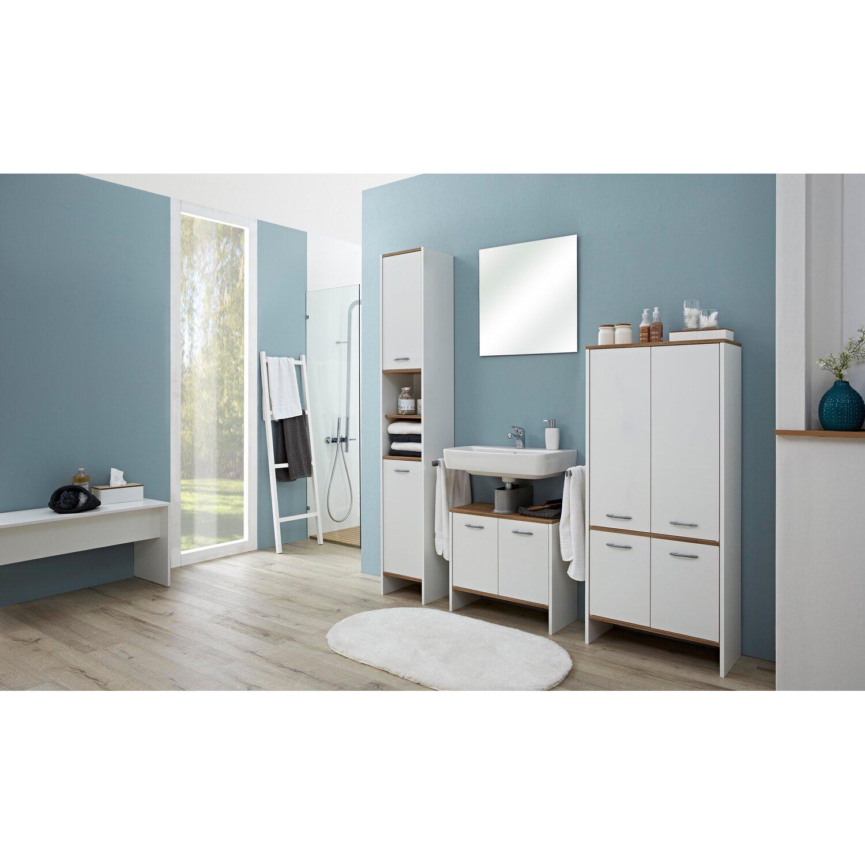 pelipal waschbeckenunterschrank 62 cm sina wei perl riviera eiche kaufen bei obi. Black Bedroom Furniture Sets. Home Design Ideas