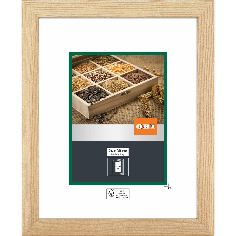 obi holz wechselrahmen natur 24 cm x 30 cm kaufen bei obi. Black Bedroom Furniture Sets. Home Design Ideas