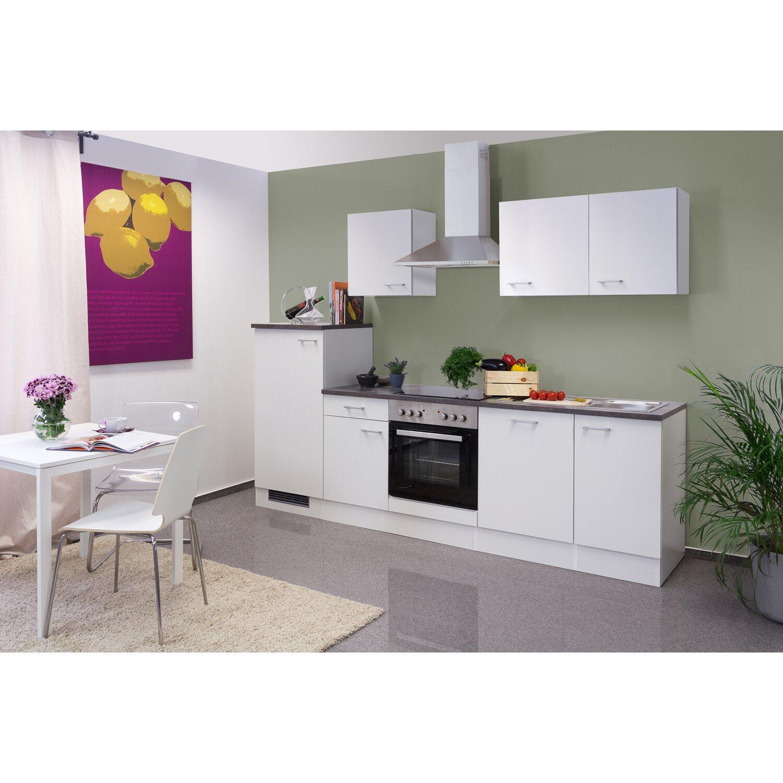 flex well k chenzeile lucca 280 cm wei kaufen bei obi. Black Bedroom Furniture Sets. Home Design Ideas