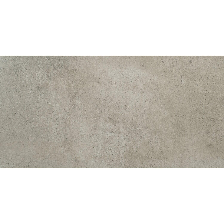 Feinsteinzeug Vista Grau Glasiert Matt 30 5 Cm X 60 5 Cm Kaufen Bei Obi