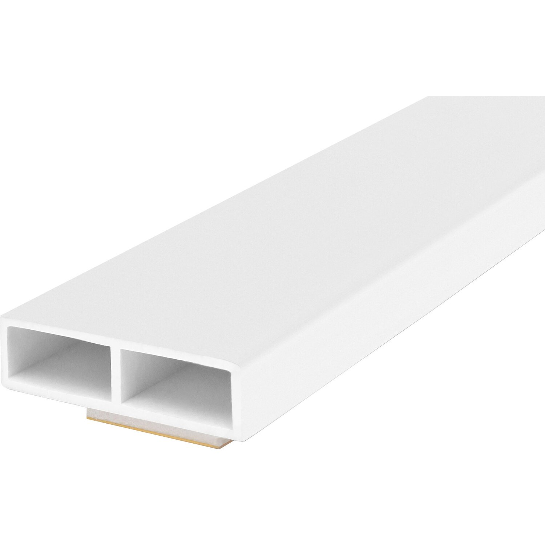 official photos a212e b27bb Wandanschlußleiste für ThermoSpace Tür 25 mm Weiß Meterware