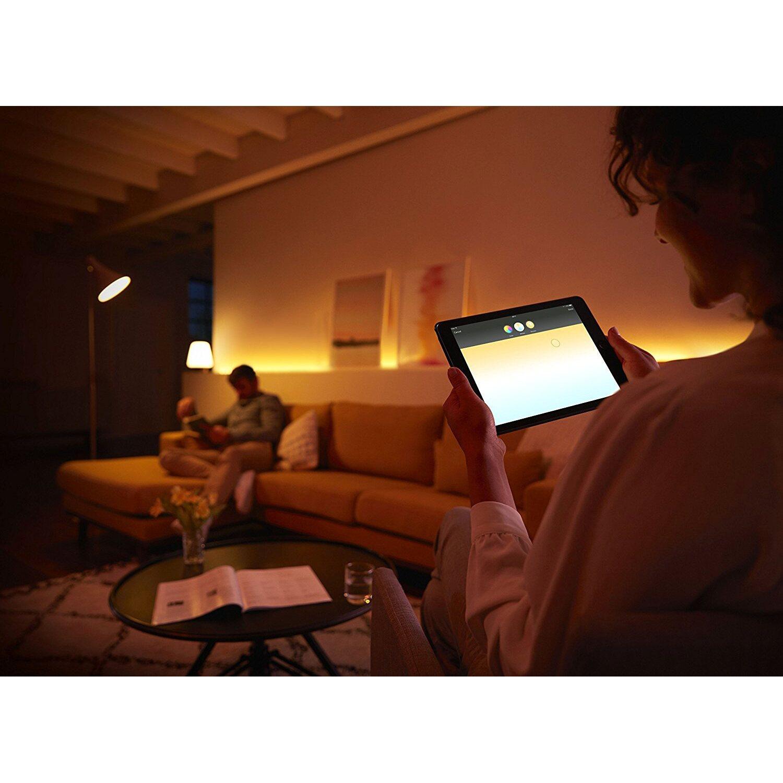 Philips hue led lampe white ambiance starter kit e2795 w eek a philips hue led lampe parisarafo Choice Image