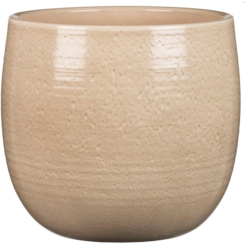 scheurich bertopf intense 765 18 cm glazing sand kaufen bei obi. Black Bedroom Furniture Sets. Home Design Ideas