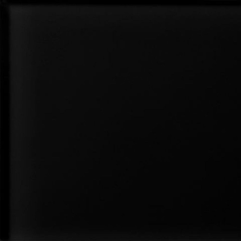 Sonstige Wandfliese Glas Glossy Schwarz 15 cm x 15 cm