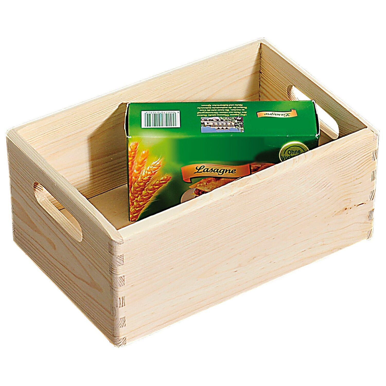 Größen Allzweckkiste Kiefer Holz Kiste Allzweck Box Holzkiste Stapelbox versch
