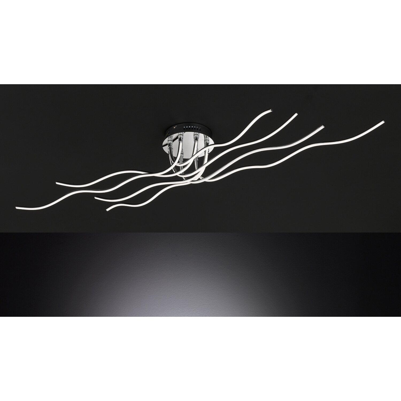 wofi led deckenleuchte linee 8 flammig eek a kaufen bei obi. Black Bedroom Furniture Sets. Home Design Ideas