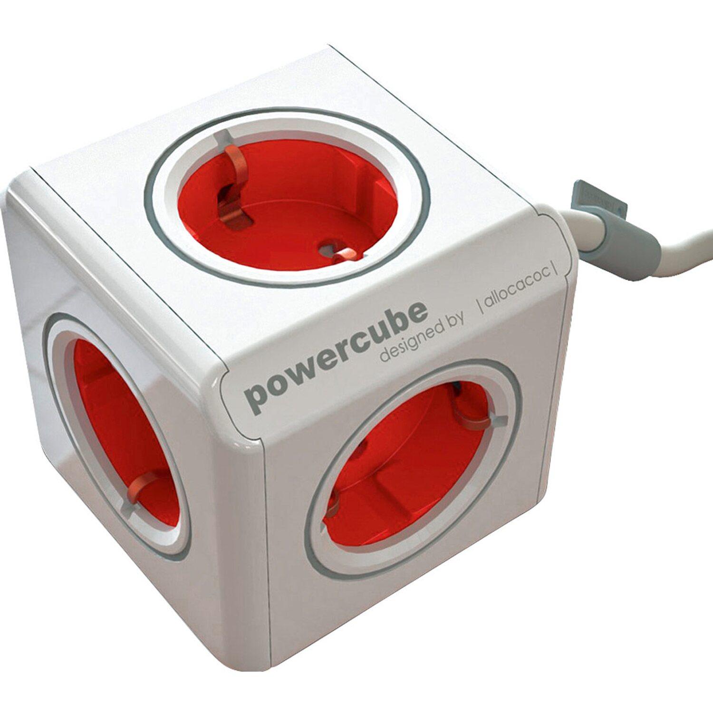 Steckdosenleiste Power Cube 5-fach Weiß 1,5 m