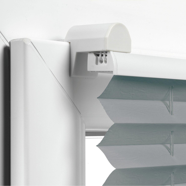 gardinia easyfix plissee mit 2 bedienschienen 100 cm x 130 cm schiefer kaufen bei obi. Black Bedroom Furniture Sets. Home Design Ideas
