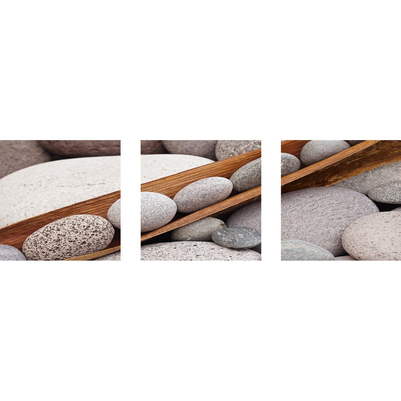 Eurographics  Wandtattoo 3er-Set Boat of Stones