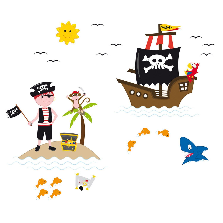 Eurographics  Fenstersticker antistatisch Pirates of The Window