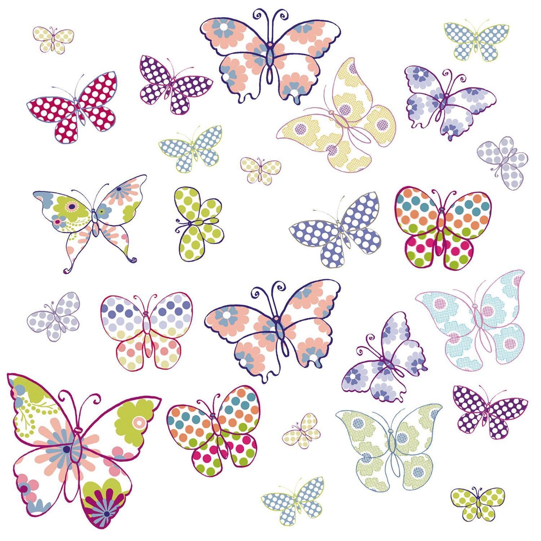 Eurographics EUROGRAPHICS Fensterbilder »Butterflies«