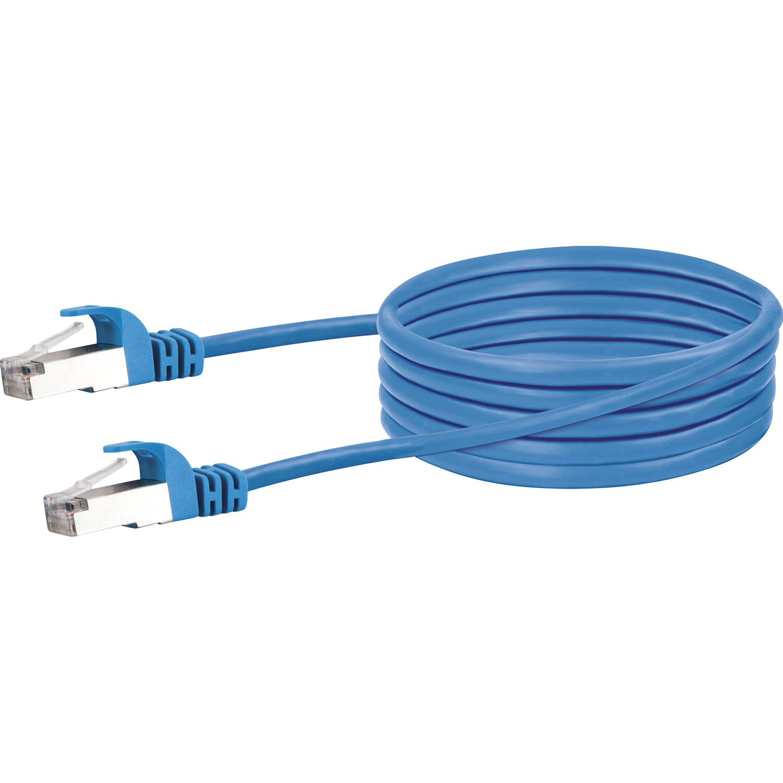 Schwaiger Lan Netzwerkkabel Mit 1000 Mbits Datentransferrate 2 5 M