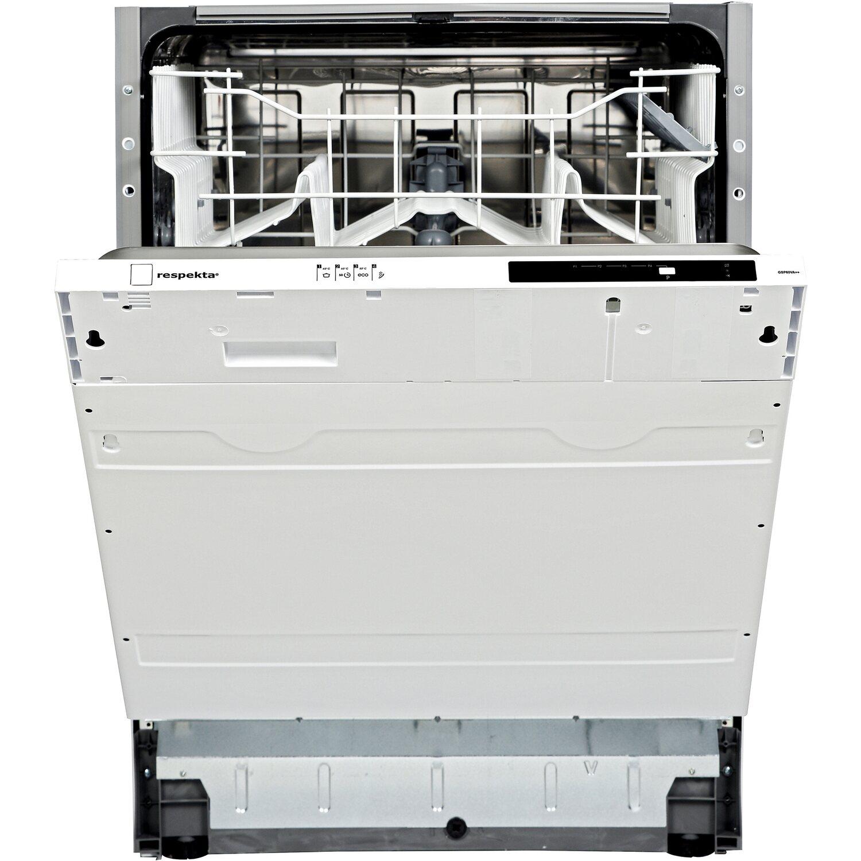 Respekta Küchenzeile GLRP280HWG Grifflos 280 cm Grau Hochglanz ...