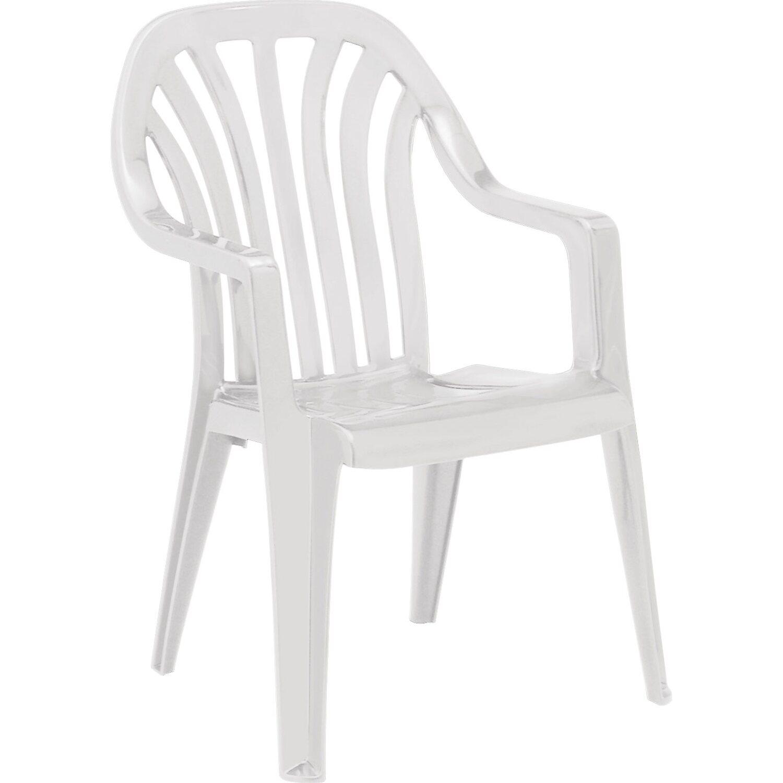 Stapelsessel Laredo Weiß
