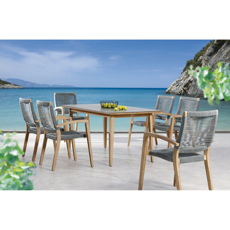 Tisch Lagos 230 cm x 90 cm Grandis-Betongrau kaufen bei OBI