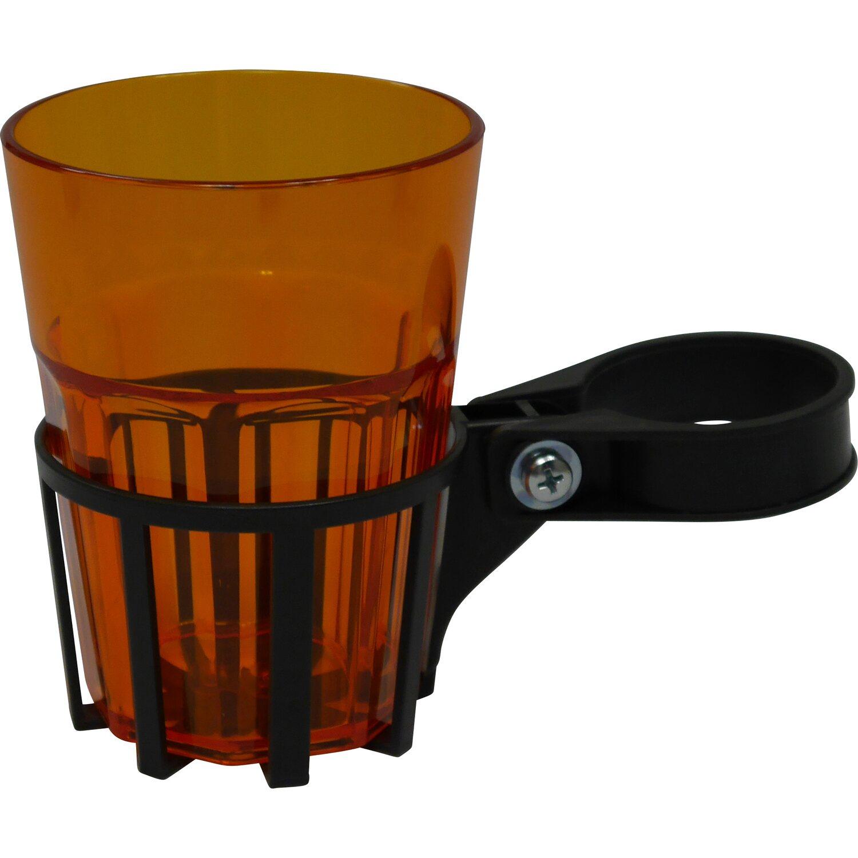 Getränkehalter für Hollywoodschaukel inkl. Becher Orange