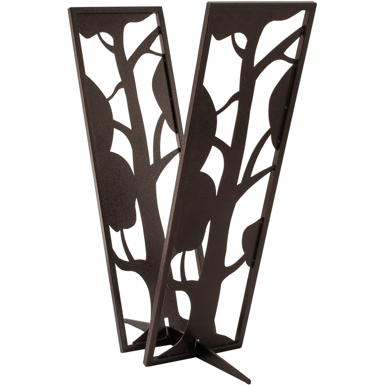 svenskav kaminholz regal baum kupferfarbig kaufen bei obi. Black Bedroom Furniture Sets. Home Design Ideas