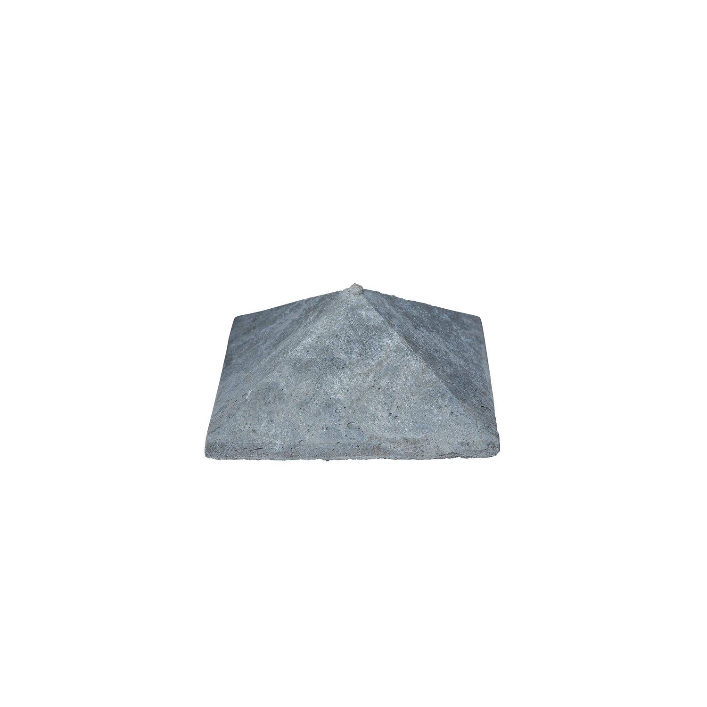 Beckers Betonzaun Betonzaun-Pfostenkappe doppelseitig 13 cm x 13 cm