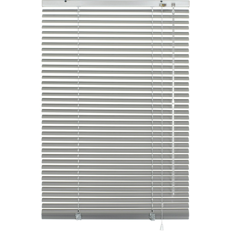 Gardinia Aluminium Jalousie 100 cm x 240 cm Silber Preisvergleich