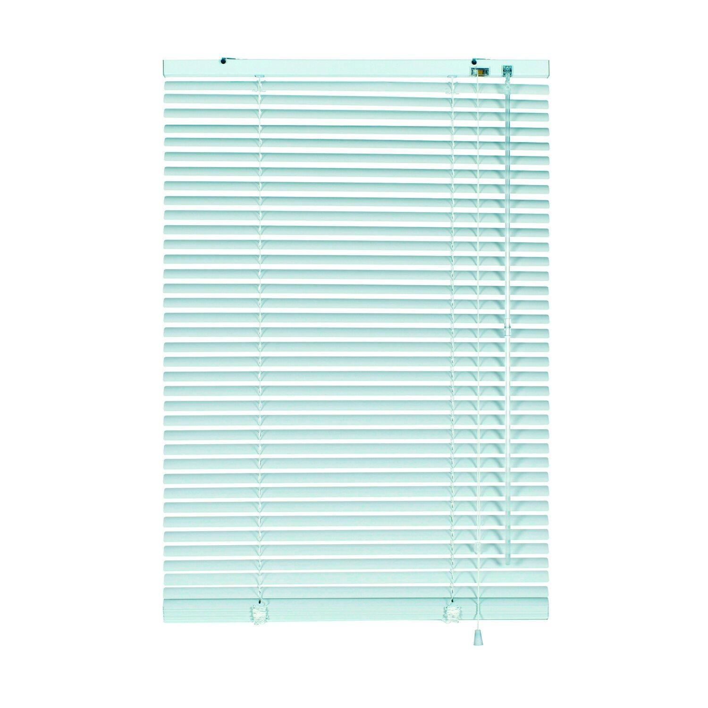 Gardinia Aluminium Jalousie 110 cm x 175 cm Weiß