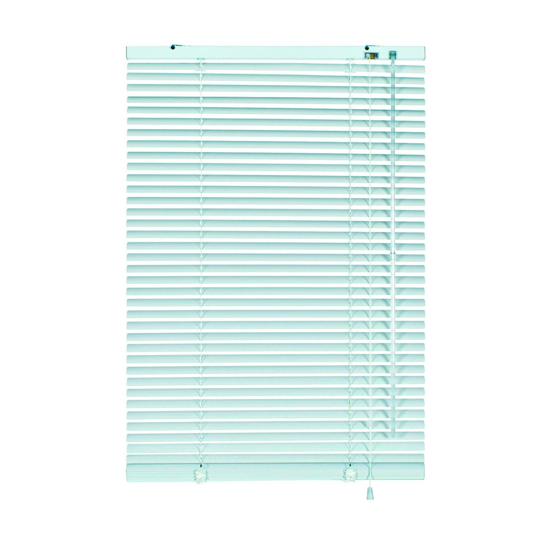 Gardinia Aluminium Jalousie 50 cm x 175 cm Weiß
