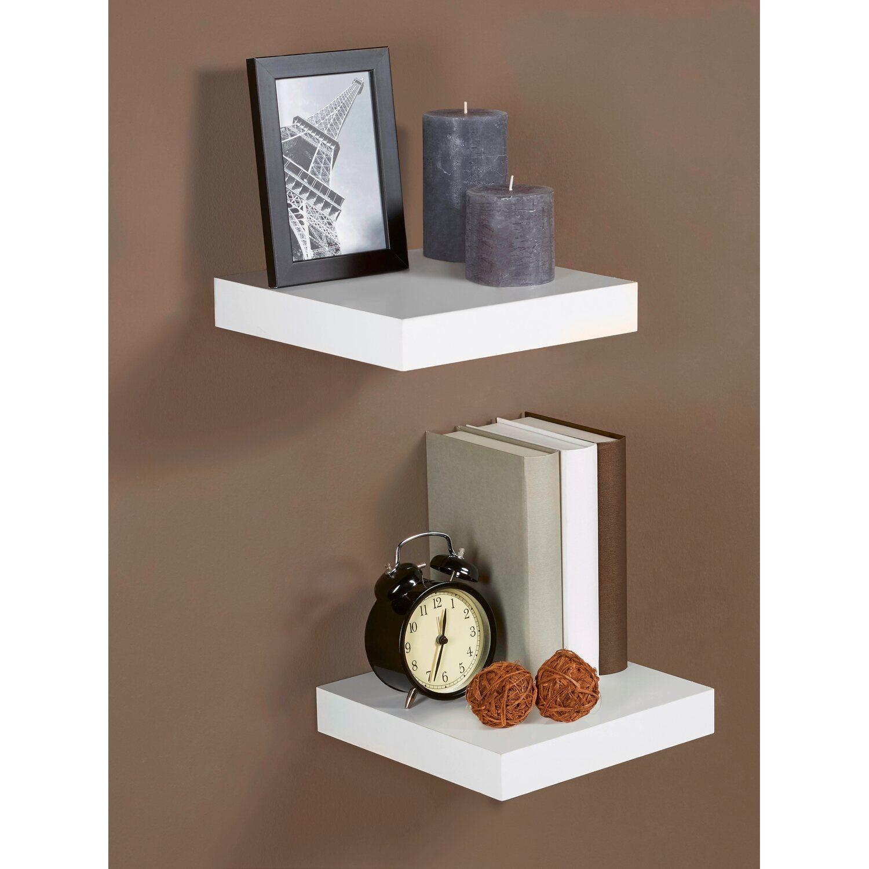obi regalboden wei hochglanz 3 8 cm x 23 5 cm x 23 5 cm kaufen bei obi. Black Bedroom Furniture Sets. Home Design Ideas