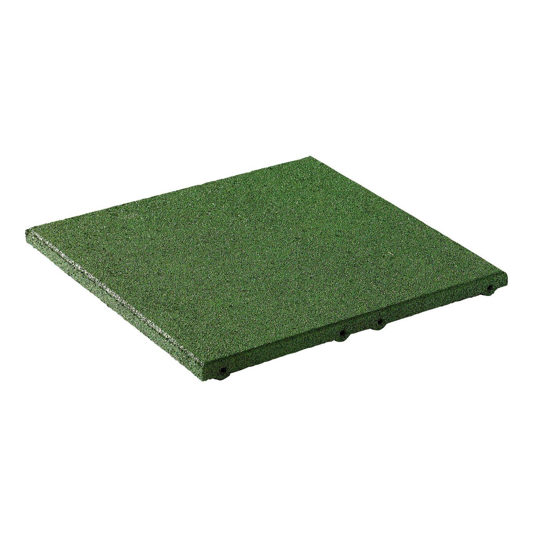 Fallschutzplatte Elastikmattegrun 50 Cm X 50 Cm X 3 Cm Kaufen Bei Obi