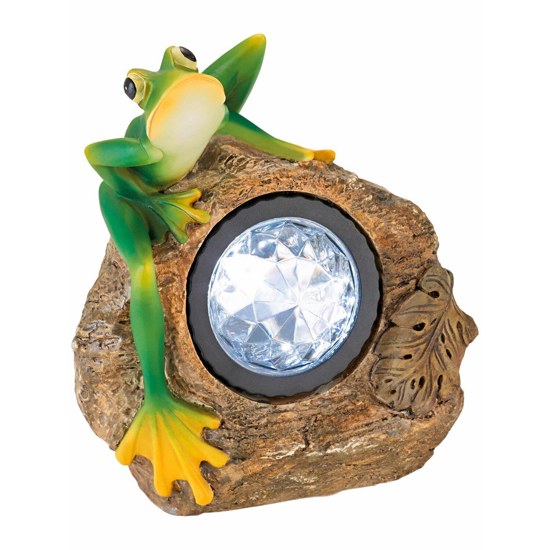 Obi Led Solarfigur Frosch Kaufen Bei Obi