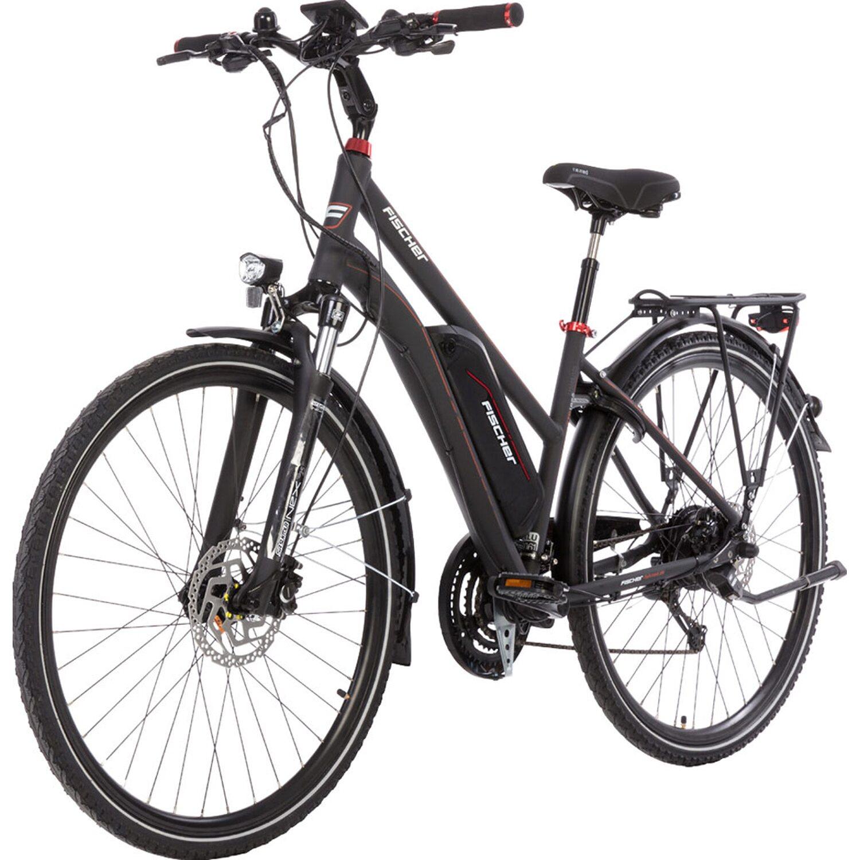 Fischer E Bike Trekking Damen Etd 1822 S1 Dunkelanthrazit Matt