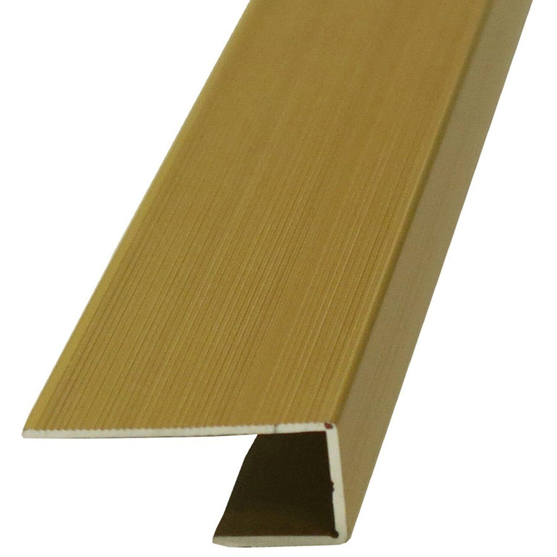 einfassprofil 10 mm x 20 mm messing 2700 mm kaufen bei obi. Black Bedroom Furniture Sets. Home Design Ideas