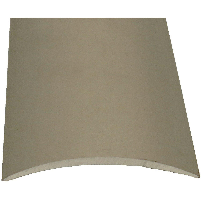 Ubergangsprofil Gelocht 40 Mm X 5 Mm Silber 2500 Mm