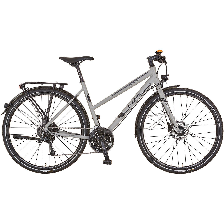 Prophete Alu Trekking-Fahrrad 28 Entdecker Sport Damen