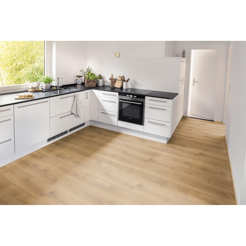 Egger Home Laminatboden Aqua+ Classic Brook Eiche Honig kaufen bei OBI