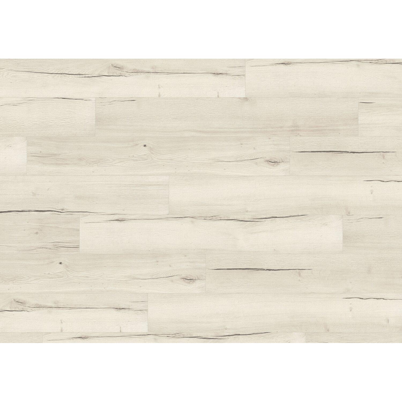 Egger Home Laminatboden Aqua+ Classic Creston Eiche Weiß kaufen bei OBI