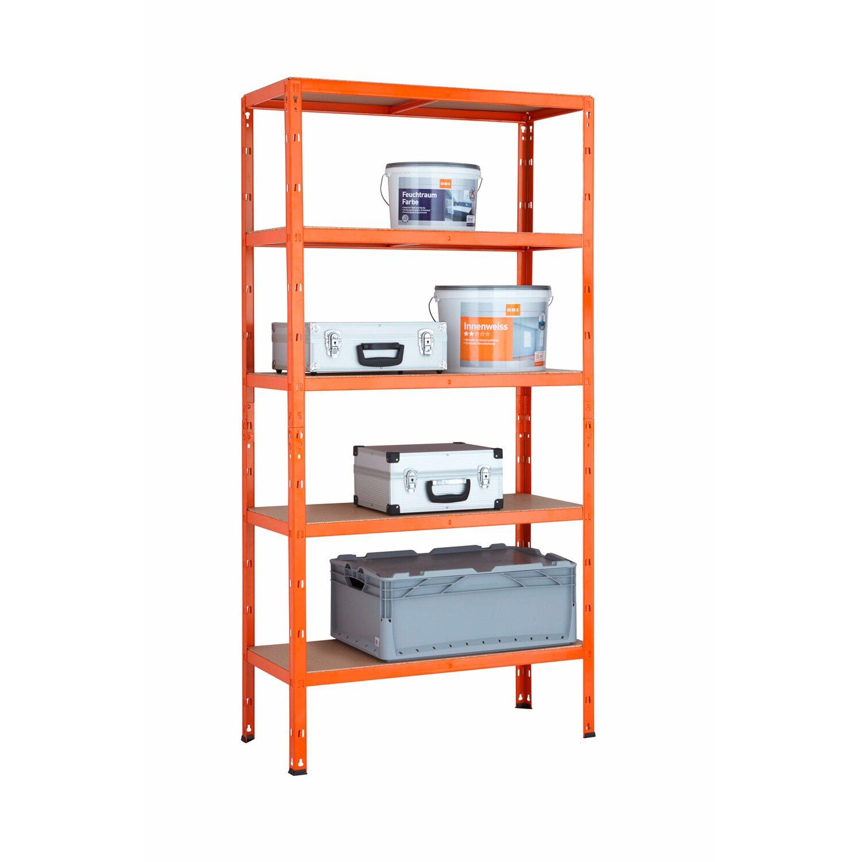 Metall Schwerlast Steckregal Orange 180 Cm X 90 40 Kaufen