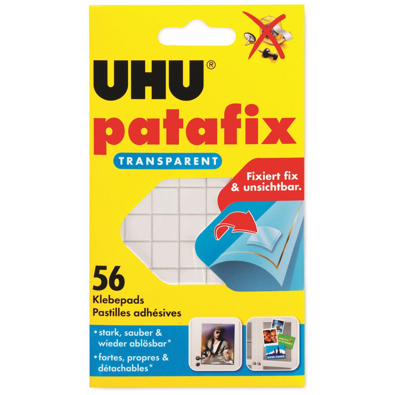 Uhu Patafix transparent 20 Pads