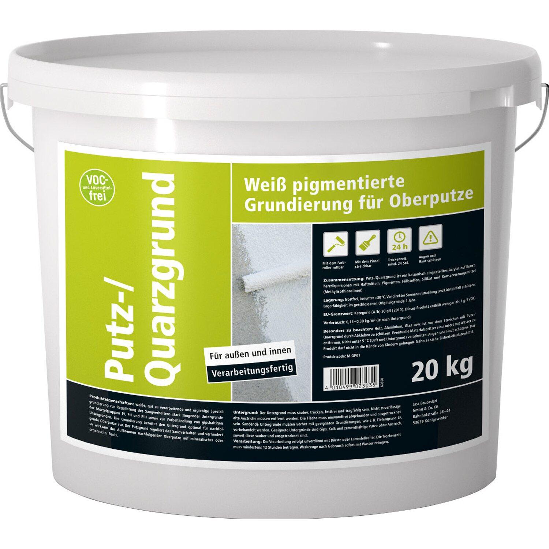 putzgrund/quarzgrund 20 kg kaufen bei obi