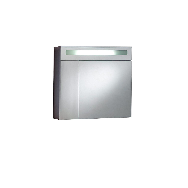 Kesper spiegelschrank siena 80 cm alu eek b a kaufen for Spiegelschrank obi