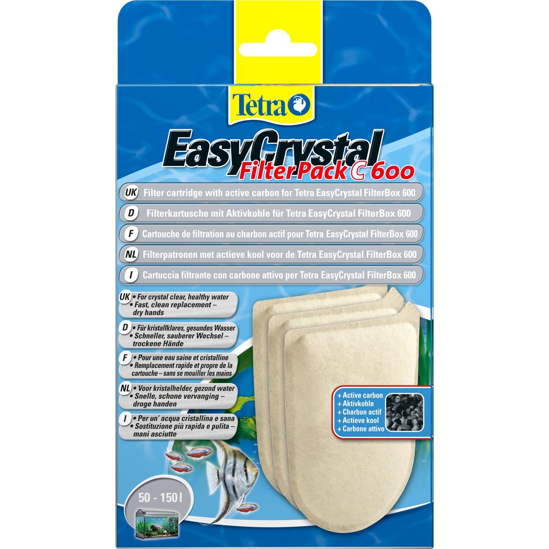 Tetra EasyCrystal FilterPack C600 mit Aktivkohle